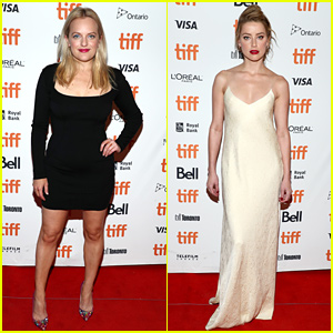 Elisabeth Moss Rocks an LBD at 'Her Smell' TIFF Premiere with Amber Heard