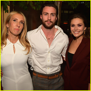 Elizabeth Olsen Reunites with Aaron Taylor Johnson at HFPA & InStyle's Toronto Party!