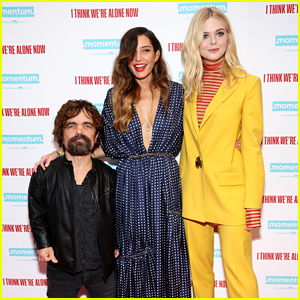 Peter Dinklage & Elle Fanning Step Out For 'I Think We're Alone Now' NYC Premiere