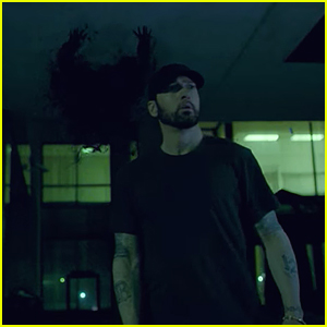 Eminem Calls Out His Critics in 'Fall' Music Video - Watch Now!