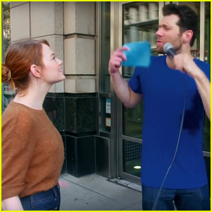 Billy Eichner Let's Everyone Know That Emma Stone Doesn't Have Instagram - Watch Now!
