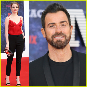 Emma Stone & Justin Theroux Bring 'Maniac' to London for World Premiere!