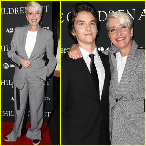 Emma Thompson & Fionn Whitehead Premiere 'The Children Act' in NYC!