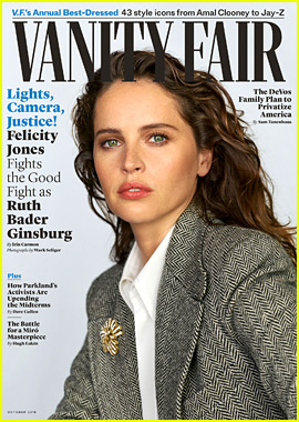 Felicity Jones Reveals Why She Wanted to Play Ruth Bader Ginsburg in 'On the Basis of Sex'