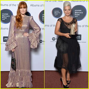 Florence Welch & Lily Allen Step Out for Hyundai Mercury Prize 2018