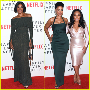 Gabrielle Union Steps Out To Support Sanaa Lathan at 'Nappily Ever After' Premiere!