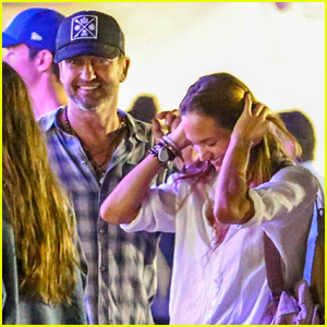 Gerard Butler & Longtime Love Morgan Brown Spend a Fun Night at Malibu's Chili Cook Off