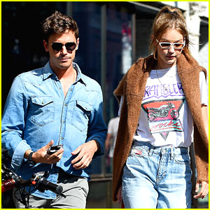 Gigi Hadid Goes Out for Lunch with Queer Eye's Antoni Porowski!