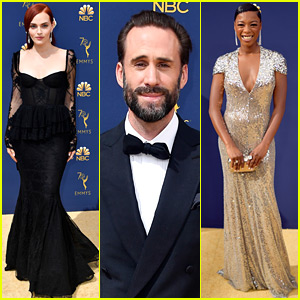 Joseph Fiennes & Madeline Brewer Joins 'Handmaid's Tale' Stars at Emmys 2018!