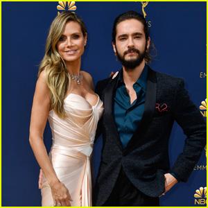 Heidi Klum & Tom Kaulitz Are a Hot Couple on the Red Carpet at Emmy Awards 2018!