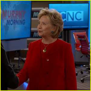 Hillary Clinton Makes a Cameo on 'Murphy Brown' Revival - Watch!