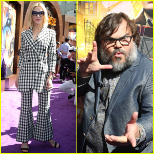 Cate Blanchett & Jack Black Attend LA Premiere of 'The House With a Clock in Its Walls'!