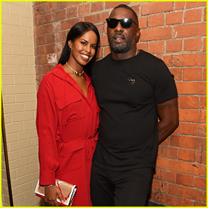 Idris Elba & Fiance Sabrina Dhowre Have a Night Out During London Fashion Week