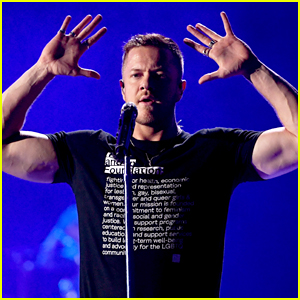 Imagine Dragons' Dan Reynolds Remembers Las Vegas Shooting at Night Two of iHeartRadio Music Festival!