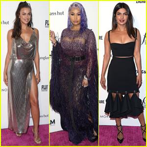 Irina Shayk, Nicki Minaj, & Priyanka Chopra Go Glam for Daily Front Row's Fashion Awards