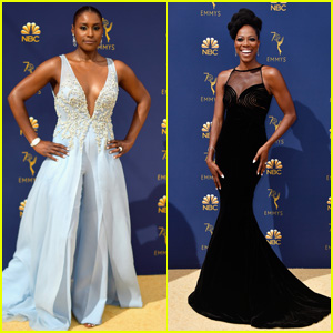 Issa Rae & Yvonne Orji Look Chic on the Red Carpet at Emmy Awards 2018!