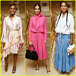 Issa Rae, Alison Brie & Tracee Ellis Ross Attend the Glamour x Tory Burch Women to Watch Luncheon!