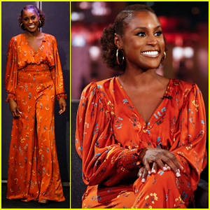 Issa Rae Explains Checking Her Phone During Betty White's Surprise Speech at Emmys 2018!