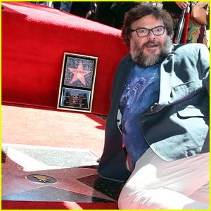 Jack Black Slams President Trump at Hollywood Walk of Fame Ceremony