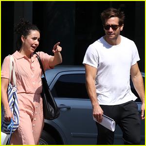 Jake Gyllenhaal Hangs Out with Longtime Friend Greta Caruso in N.Y.