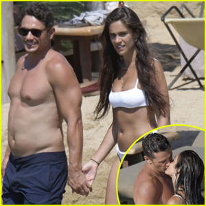 James Franco & Girlfriend Isabel Pakzad Pack on PDA During Beach Vacation