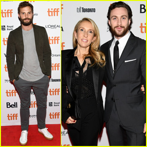 Jamie Dornan Supports Sam Taylor-Johnson at 'A Million Little Pieces' Premiere!