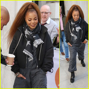 Janet Jackson Heads Out After a BBC Radio 2 Radio Interview in London!
