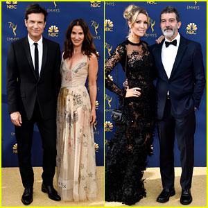 Jason Bateman & Antonio Banderas Are Leading Men at Emmys 2018