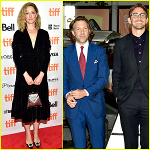 Jason Sudeikis, Lee Pace, & Judy Greer Premiere 'Driven' at TIFF 2018