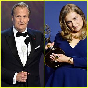 Godless' Jeff Daniels & Merritt Wever Win at Emmys 2018!