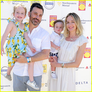 Jimmy Kimmel & Wife Molly McNearney Bring Their Adorable Kids to a Charity Event