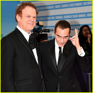 Joaquin Phoenix & John C. Reilly Attend 'The Sisters Brothers' Premiere at Deauville Film Festival!