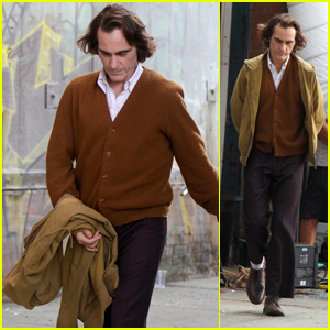 Joaquin Phoenix Films 'Joker' Scenes in NYC - See More Pics From the Set!