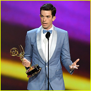 John Mulaney Wins for Outstanding Writing in a Variety Special at Emmy Awards 2018!
