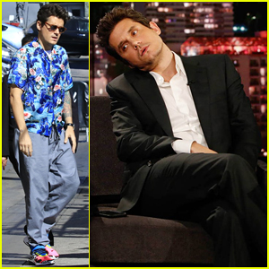 John Mayer Gushes About Dave Chappelle & Performs 'New Light' on 'Jimmy Kimmel Live'!