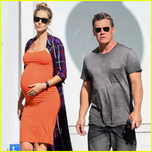 Josh Brolin & Pregnant Wife Kathryn Boyd Grab Lunch in Beverly Hills