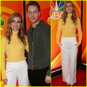 Josh Dallas & Melissa Roxburgh Bring 'Manifest' to NBC Fall Junket in NYC!