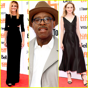 Julia Roberts Joins Courtney B. Vance & Kathryn Newton at 'Ben is Back' Premiere at TIFF 2018