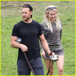 Julianne Hough & Brooks Laich Take Their Dogs to the Dog Park