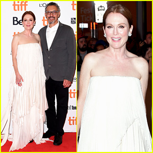 Julianne Moore is Glowing in Givenchy at TIFF Premiere