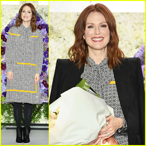 Julianne Moore Launches New Florale by Triumph Collection in Tokyo!