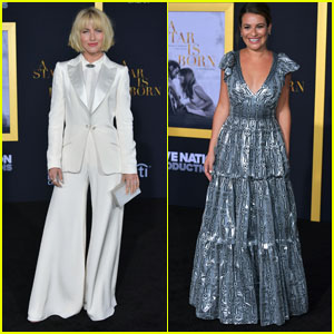 Julianne Hough & Lea Michele Attend 'A Star Is Born' Premiere in LA!