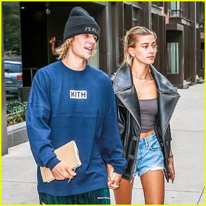 Justin Bieber & Hailey Baldwin Step Out Amid Marriage Rumors