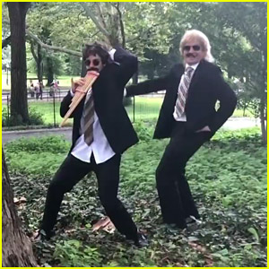 Justin Bieber & Jimmy Fallon Dance in Disguise in Central Park - Watch!