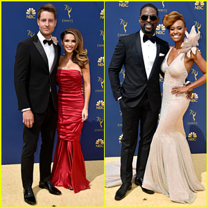 Justin Hartley & Sterling K. Brown Bring 'This Is Us' to Emmys 2018