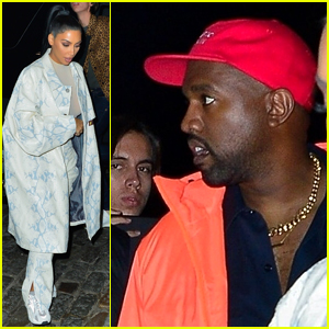 Kanye West & Kim Kardashian Step Out After He Gets Booed for Pro-Trump Speech at 'SNL'