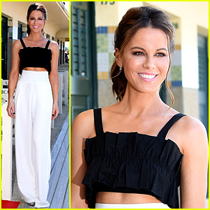 Kate Beckinsale Honored with a Locker Room at Deauville Film Festival