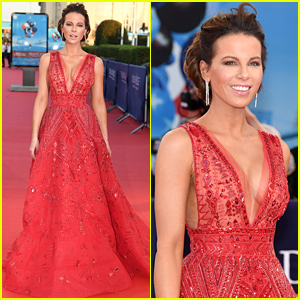 Kate Beckinsale Looks Beyond Amazing on Deauville Red Carpet