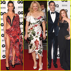 Kate Beckinsale, Isla Fisher &  Elisabeth Moss Step Out For GQ Men of the Year Awards 2018