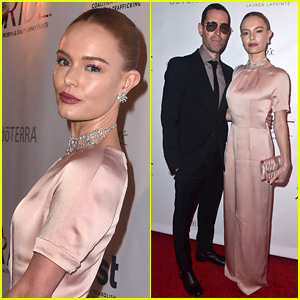 Kate Bosworth & Husband Michael Polish Attend Ride Foundation's Dance for Freedom 2018